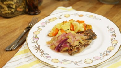 Pork Chops with Apple Sauce