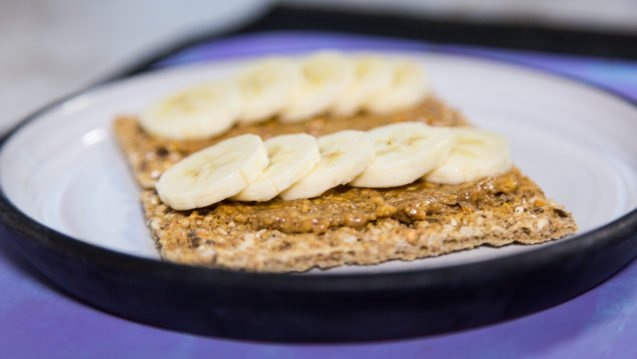 Peanut Butter & Banana Crackers
