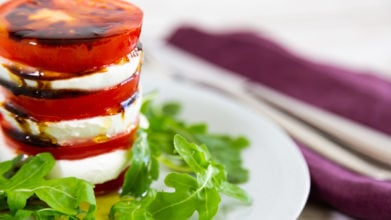 "Tomato ""Pizza"" Stack"
